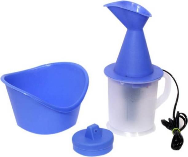 Ganesh G Steamer Facial Steam Cold and Cough Inhaler Steam Vaporizer Vaporizer (Blue, White) Vaporizer