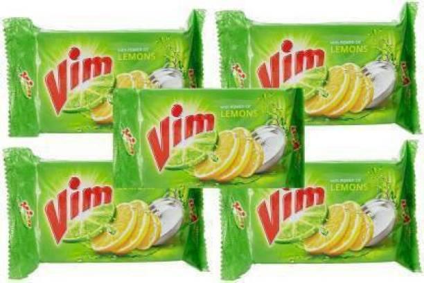 Vim Lemons Dishwash bar - (150 x 10)= 1500 gm Dishwash Bar