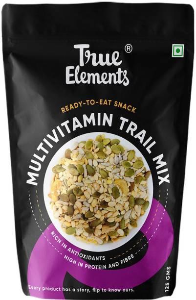True Elements Multivitamin Trail Mix - Watermelon, Pumpkin, Sunflower, Sesame, Apricot & Soynuts