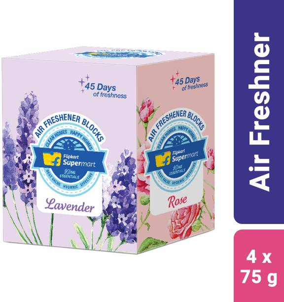 Flipkart Supermart Home Essentials Lavender, Sandal, Rose, Jasmine Blocks