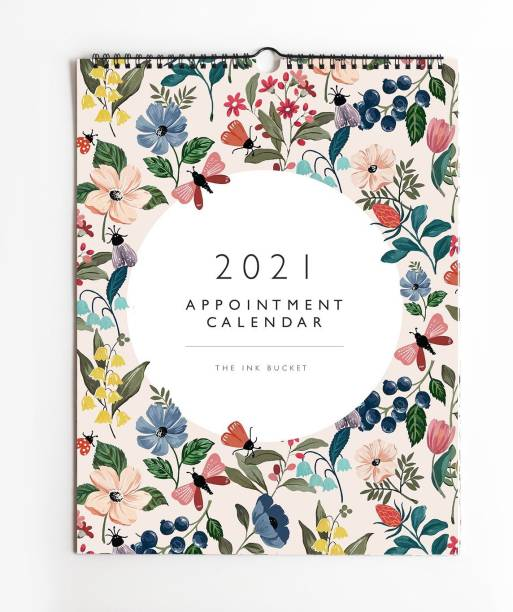 Happywagon The Ink Bucket - 2021 Appointment Wall Calendar 2021 Wall Calendar