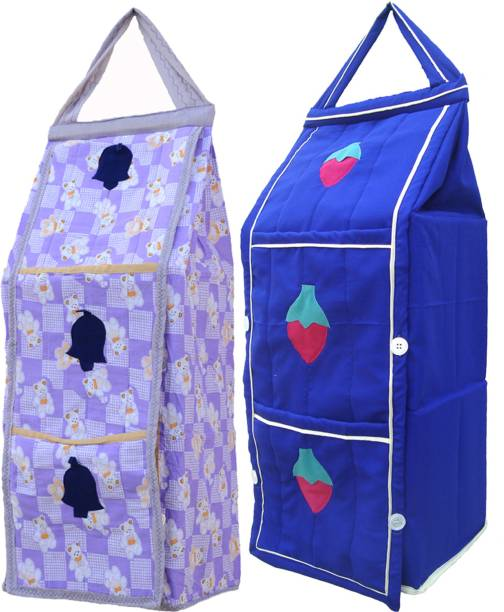 SRIM SMC0511 Polyester Collapsible Wardrobe