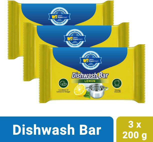 Flipkart Supermart Home Essentials Lemon Dishwash Bar