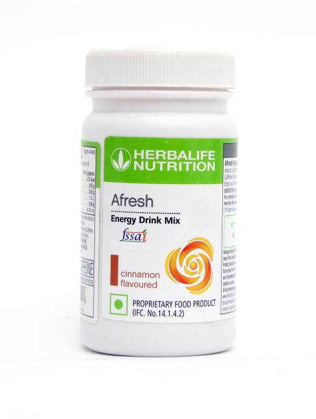 HERBALIFE Afresh Energy Drink Mix - Cinnamon Flavor Energy Drink