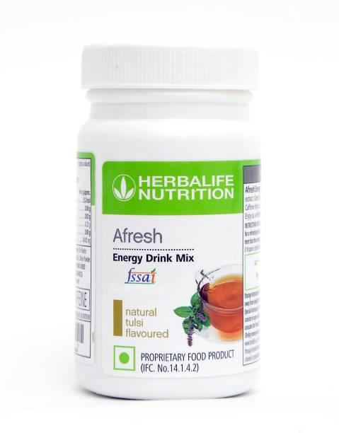 HERBALIFE Afresh Energy Drink Mix -Tulsi Flavor Energy Drink