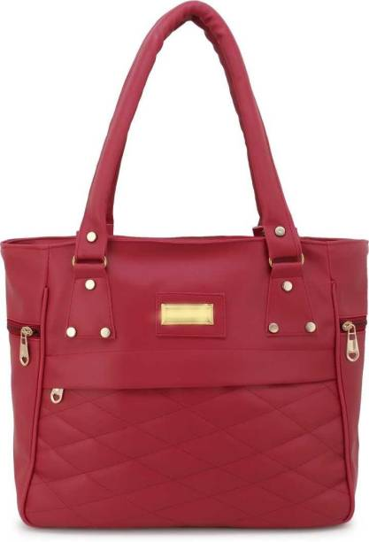 khatushyam collection Women Maroon Hand-held Bag