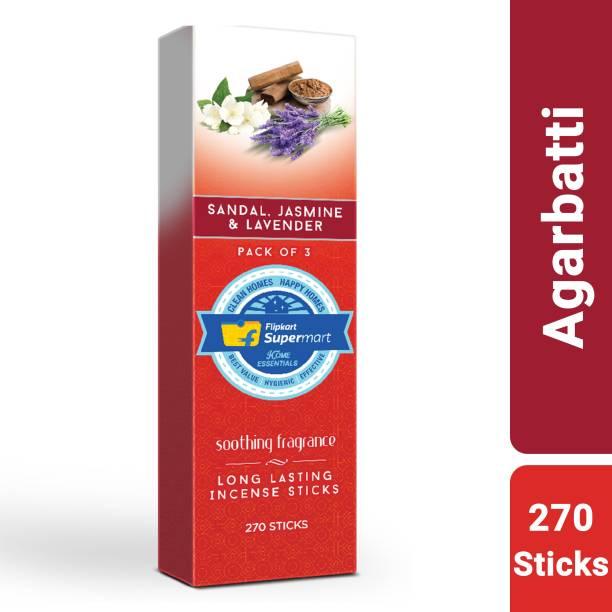 Flipkart Supermart Home Essentials Agarbatti . Sandal, Jasmine & Lavender.