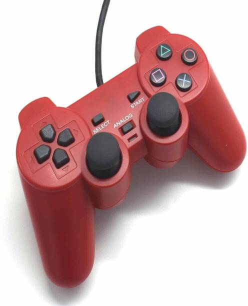 Clubics PS2 Wired Red Controller  Motion Controller