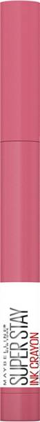 MAYBELLINE NEW YORK Super Stay Ink Crayon Lipstick, Keep It Fun, 1.2g