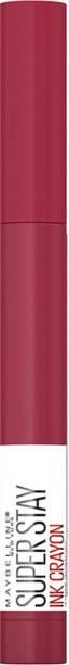 MAYBELLINE NEW YORK Super Stay Ink Crayon Lipstick, Speak Your Mind, 1.2g