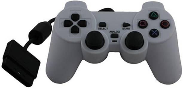Clubics PS2 Controller - Wired Motion Controller (White)  Motion Controller
