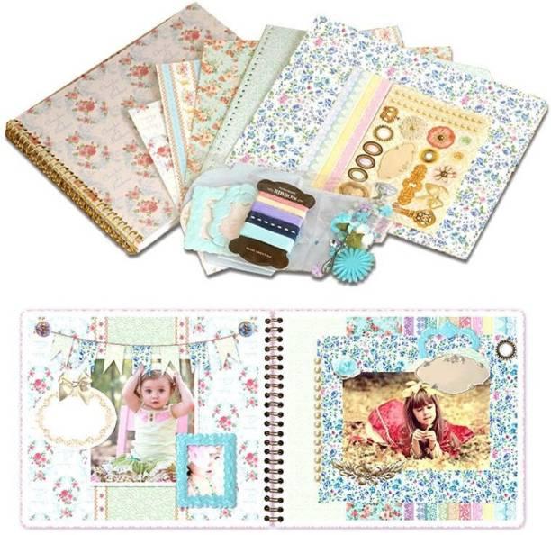 R H lifestyle Design No 5 Children DIY Handmade Pearl Paper Scrapbooking Kit Set Theme,  Scrapbook Kit