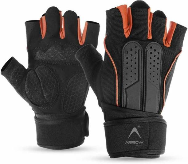 ArrowMax PYTHON SPORTS GLOVES FOR WEIGHT LIFTING , WORKOUT, CYCLING AND RIDING Gym & Fitness Gloves