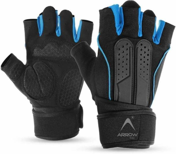 ArrowMax PYTHON GLOVES FOR GYM , SPORTS , RIDING , CYCLING WITH WRIST SUPPORT Gym & Fitness Gloves