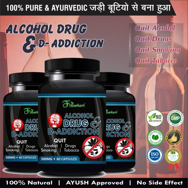 Relifo Alcohol & d-drug addiction Supplement for remove your addiction Pure