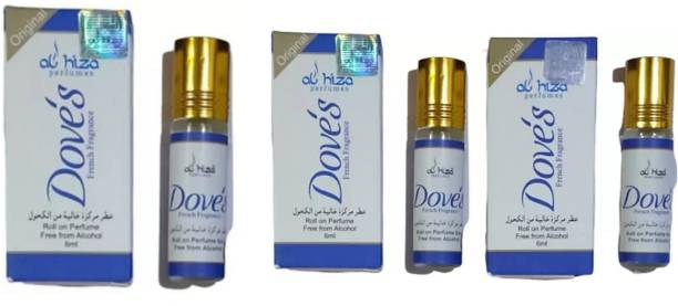 AL Hiza Dove's roll on perfume Floral Attar