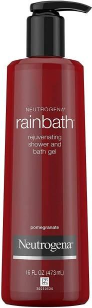 NEUTROGENA Rainbath Rejuvenating Shower And Bath Gel, Body Wash, Pomegranate.