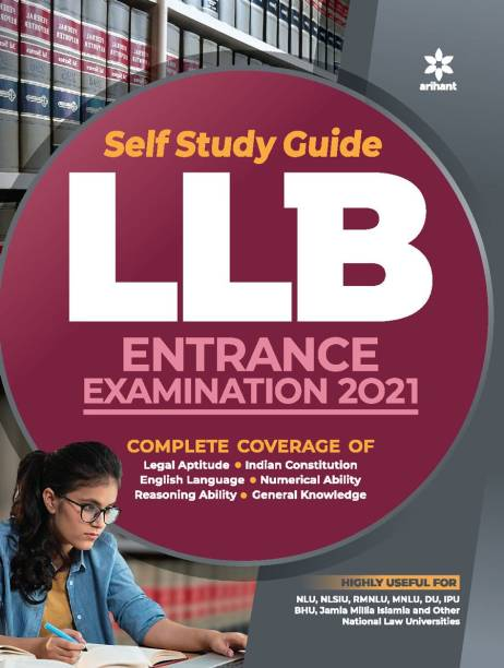 Self Study Guide for LLB Entrance Examination 2021