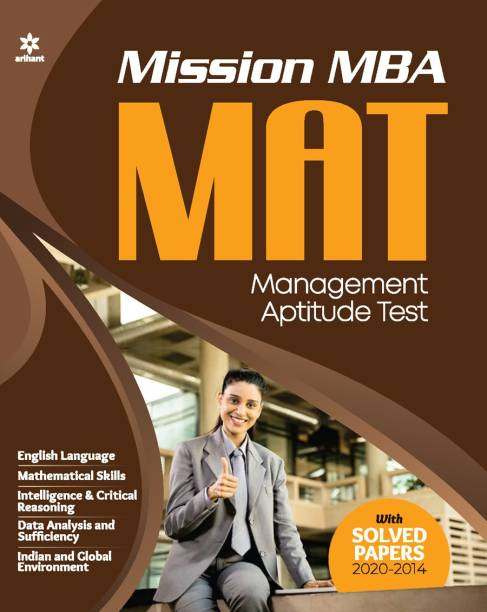 Mission MBA Mat Mock Tests and Solved Papers 2021