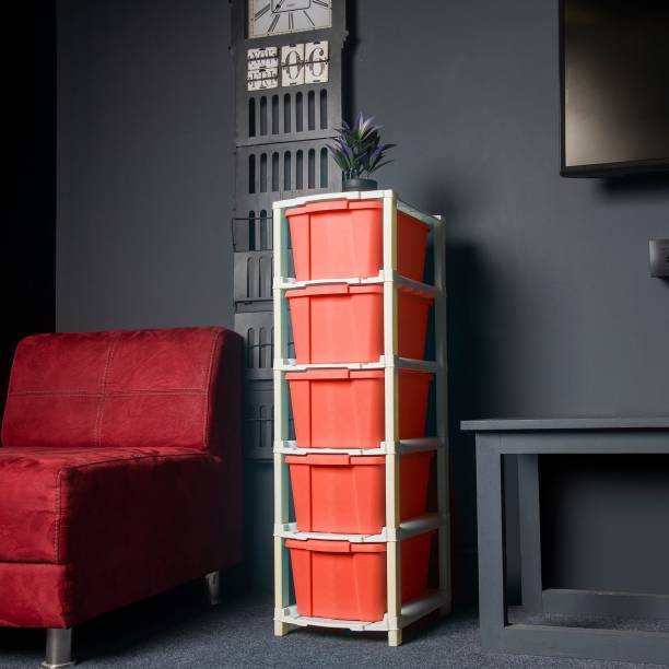 Foxter Plastic Free Standing Chest of Drawers