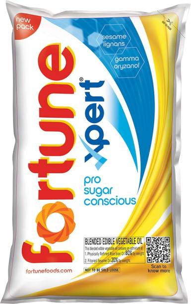 Fortune Xpert Pro Sugar Conscious Blended Oil Pouch