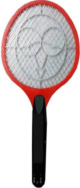 Restova Electric Mosquito Killer Racket with Chargeable round trip Plug Electric Insect Killer (Bat) Electric Insect Killer