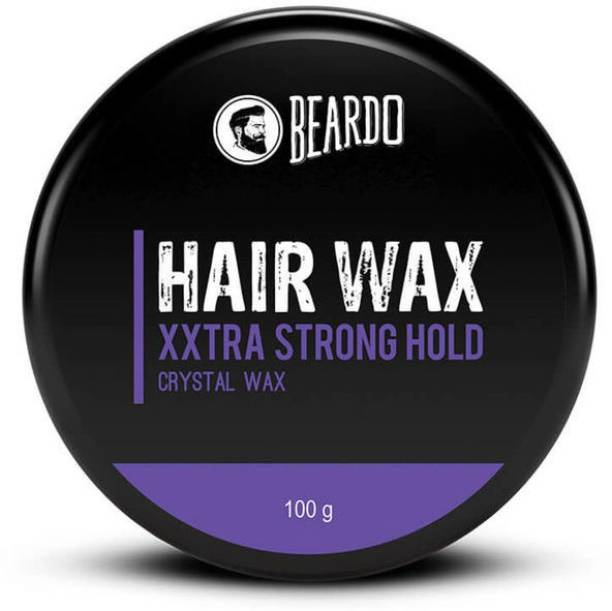 BEARDO XXtra Stronghold Crystal Wax for Stylish Hair | Made in India Hair Wax