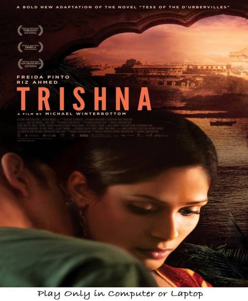 Trishna (2011) clear HD print it's burn data DVD play only in computer or laptop not in DVD or CD player it's not original without poster