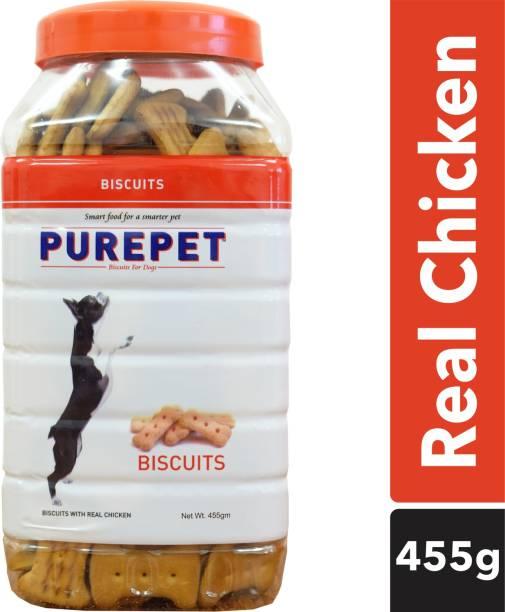 purepet Real Biscuit Chicken Dog Chew