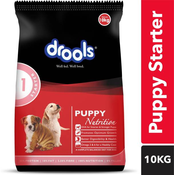 drools Puppy Starter Chicken 10 kg Dry New Born Dog Food
