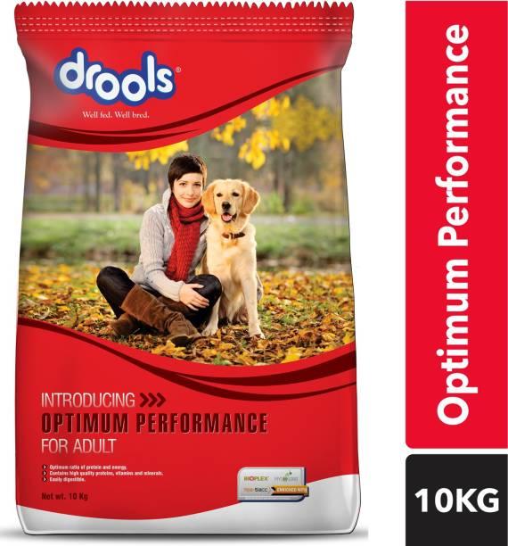 drools Optimum Performance Adult Chicken 10 kg Dry Adult Dog Food