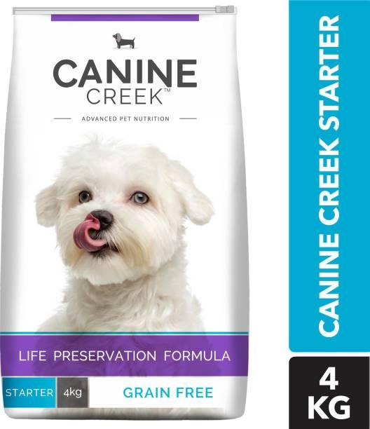 Canine Creek Starter - Ultra Premium Chicken 4 kg Dry New Born Dog Food