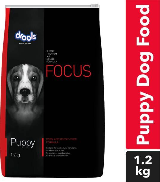drools Focus Puppy Super Premium Chicken 1.2 kg Dry New Born Dog Food