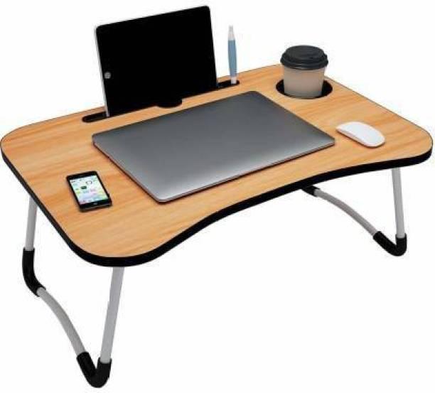 KALAI CREATION foldeble laptop table light wooden Wood Portable Laptop Table