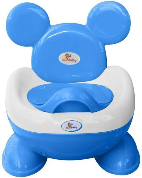 sunbaby ROYALE POTTY TRAINER BLUE Potty Box