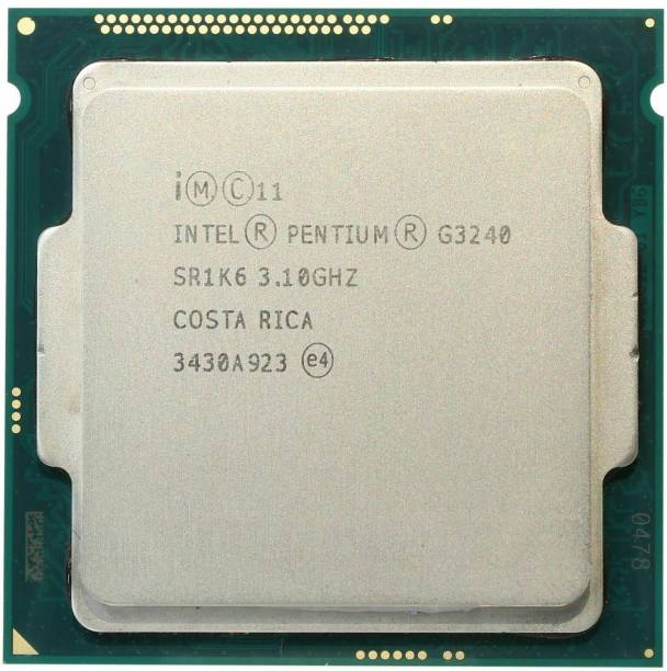 Intel G3240 4th Generation LGA 1150 3.1 GHz LGA 1150 Socket 2 Cores Desktop Processor