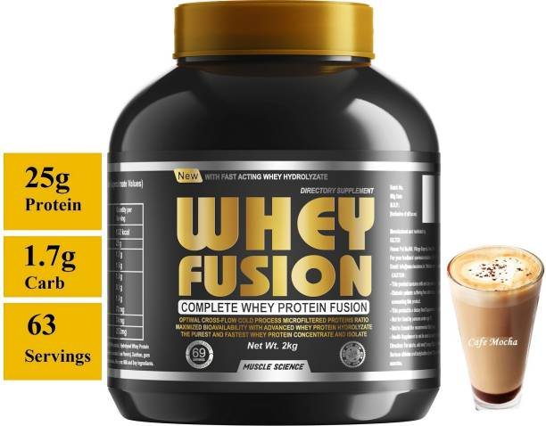 Muscle Science Gold Series Whey Fusion 100% Whey Protein