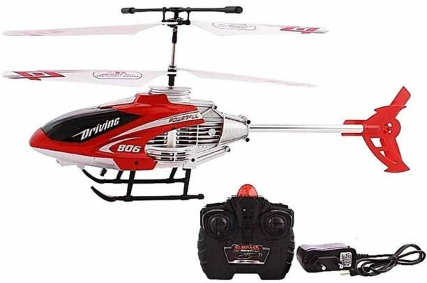 shree narayan Kids Velocity Remote Control Flying Helicopter with Unbreakable Blades Infrared Sensors
