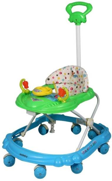 sunbaby Musical Activity Walker With Parent Rod
