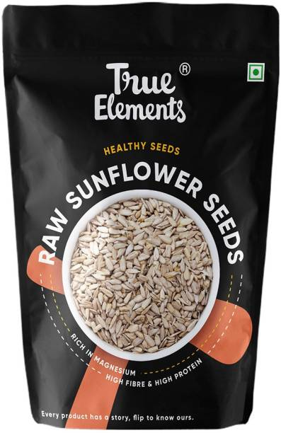 True Elements Raw Sunflower Seeds, Rich in Magnesium, Healthy Seeds