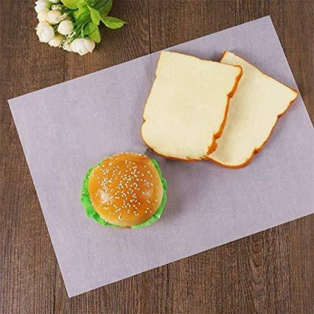 Ayansh E-Store Food Grade Butter Paper Sheets for Home and Kitchen use (10 x 10 Inch) Pack of 100 Parchment Paper