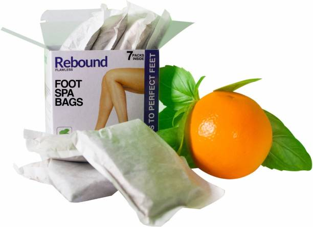 Rebound Flawless Foot Spa Bags for footcare, Organic and natural, pedicure