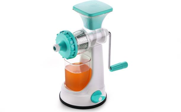Ganesh Plastic Hand Juicer Ganesh Fruit & Vegetable Steel Handle Juicer, Blue