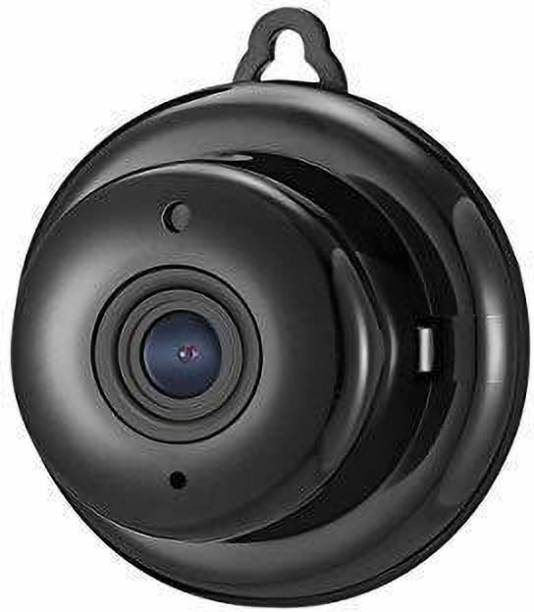 SUPOVISIO Mini Wi-Fi Full HD Spy Camera with Cloud-Based Storage, 2-Way Communication, Night Vision and SD Card Support (Black) Security Camera