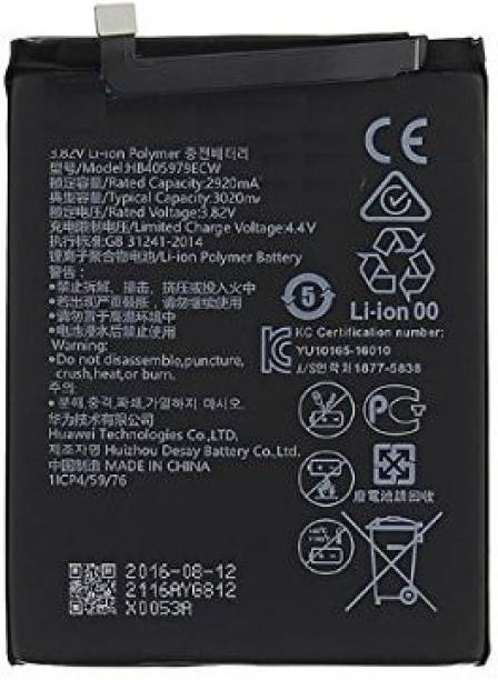ONOTIC Mobile Battery For  Honor Honor Play 7 / Honor 7s / Enjoy 6S / Honor 6A 6C Y6 Pro 2017 / P9 Lite Mini / Y5 2017 HB405979ECW