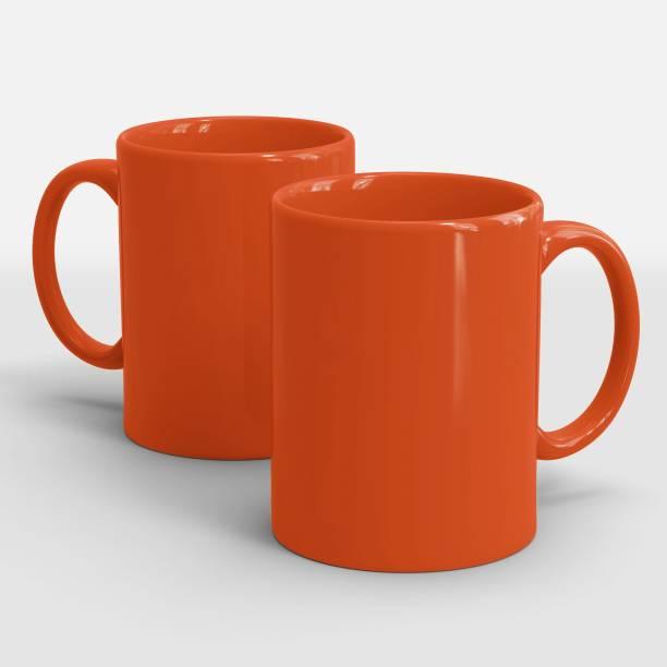 Sublikraft Full Red Ceramic Coffee Mug