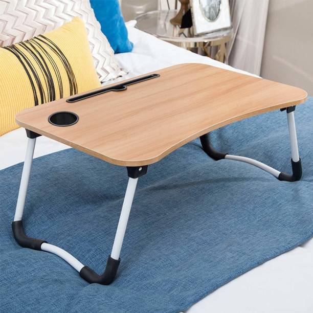 Mancloem Wood Portable Laptop Table