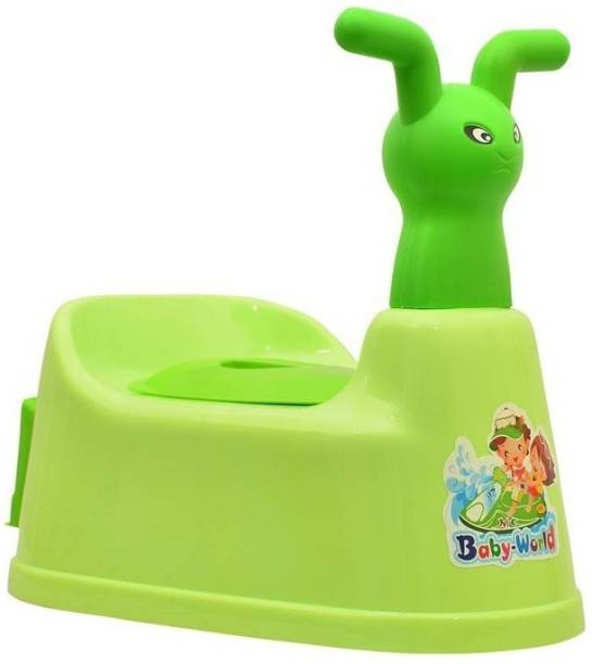Miss & Chief Toilet Baby Potty Seat Cartoon Face with Removable Tray & Closing Lid Baby Potty Seat Potty Seat  Potty Seat