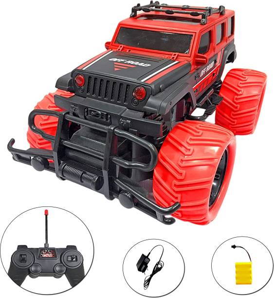 Toyshack Big and Mean Rock Crawling 1:20 Scale Modified Off-Road Hummer RC Car/Monster Truck