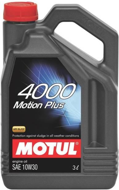 MOTUL 4000 Motion Plus Synthetic Blend Engine Oil